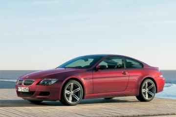 Фото BMW M6(БМВ М6) купе - вид сбоку