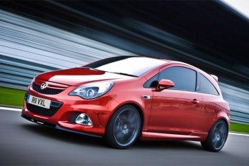 Фото красного нового Opel Corsa (Опель Корса) - Вид спереди