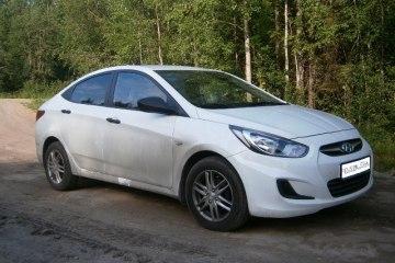 Фото. Hyundai Solaris.