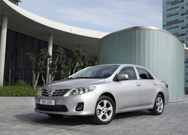 Фото Toyota Corolla (Тойота Королла) - Вид спереди