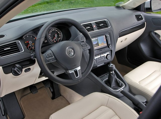 Фото Volkswagen Jetta. Салон.