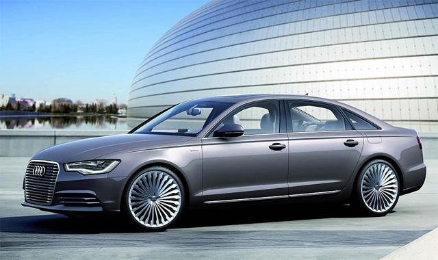 Фото Audi A6 L e-tron - Вид спереди