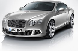 Фото Bentley Continental GT 2011 - Вид спереди