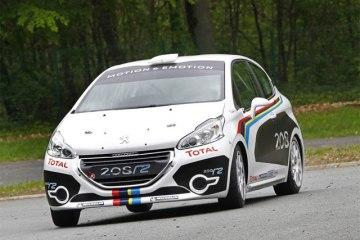 Фото нового Peugeot 208 R2 2012 - Вид спереди