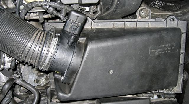 Фото расходомера Volkswagen Golf TDI