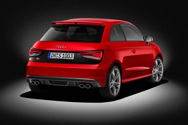Audi S1 2014 - Вид сзади