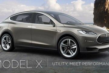 Tesla Model X - один из самых современных и перспективных электромобилей