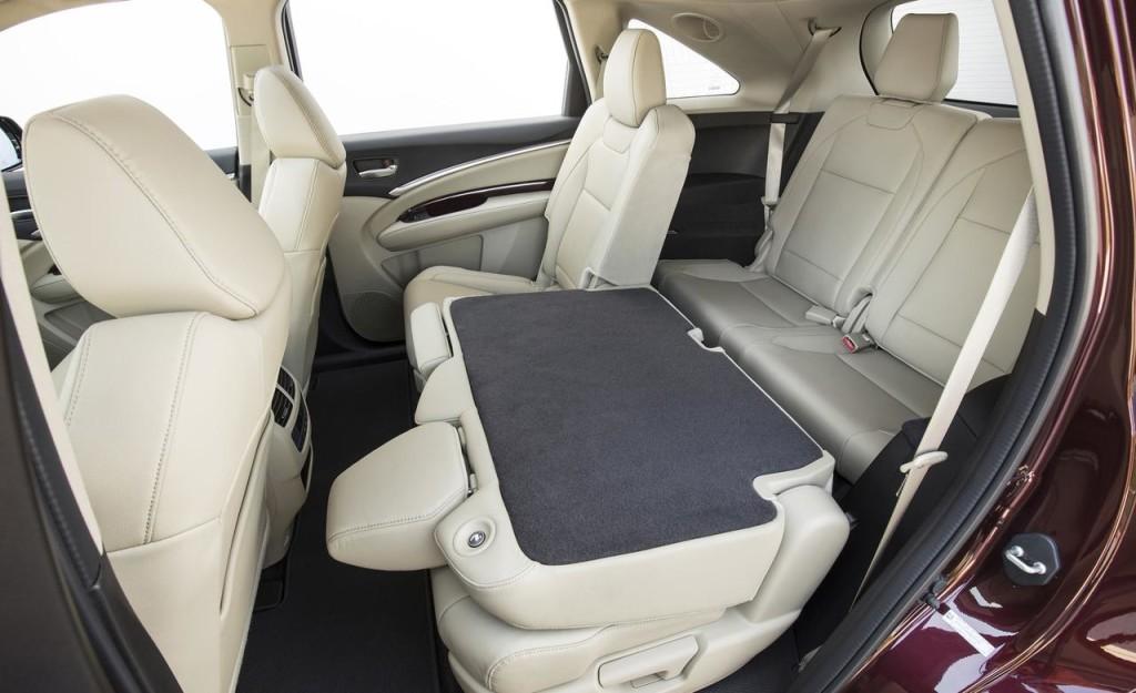 Интерьер Acura MDX 2015 фото