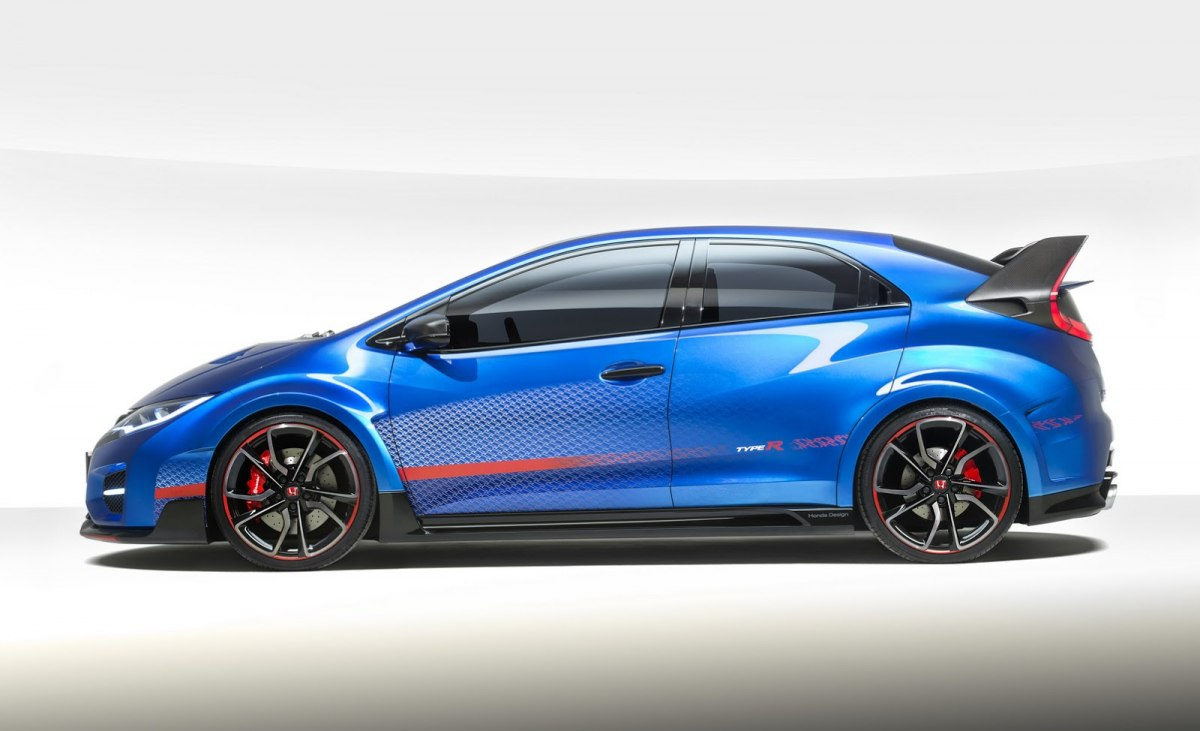 Honda Civic Type R Concept фото