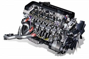 Двигатель BMW S54 в разрезе