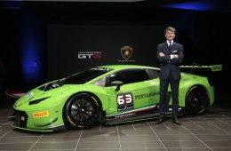 Фото Lamborghini Huracan GT3 2015-2016 (презентация)
