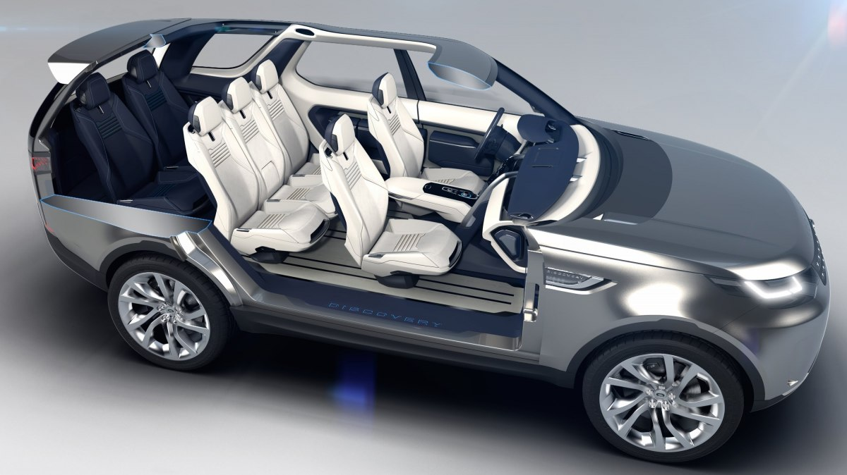 Фото салона Land Rover Discovery 2015-2016