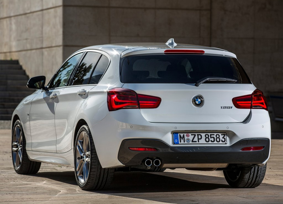 Обновленный BMW 1й серии
