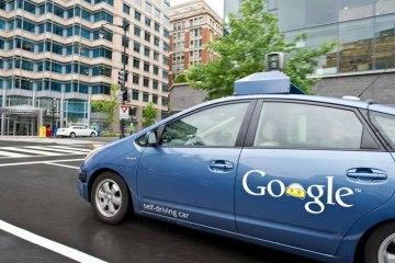 Беспилотный автомобиль Google на базе Toyota Prius