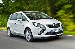 Фото Opel Zafira Tourer 2014-2015
