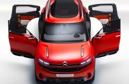 В Шанхае Citroen представили свой новый автомобиль Aircross