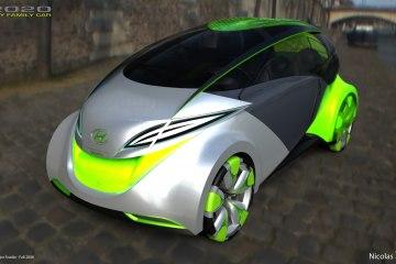 Концепт автомобиля на воде от Hyundai