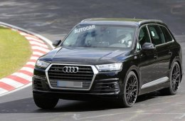 Audi SQ7 проходит тестовые испытания на трассах Германии