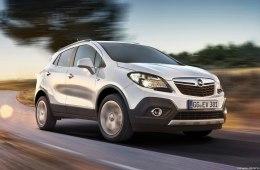 Фото обновленного Opel Mokka 2015