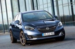 Фото Opel Astra 2015-2016
