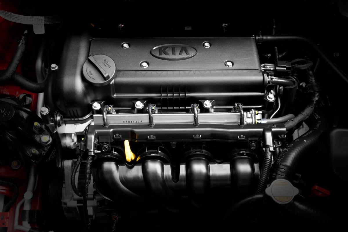 Двигатель Киа Рио 2011 модельного года