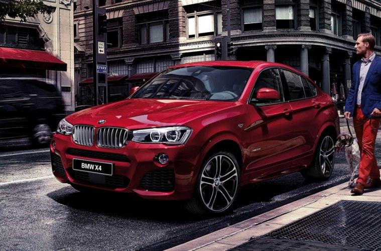 Стали известны версии и ценники на BMW X4, собранной в России