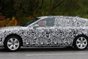 Немецкие шпионы успели сфотографировать новый унивесал от Audi 2016 модельного года