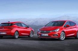 В Интернете представлена новая модель 2016 года Opel Astra