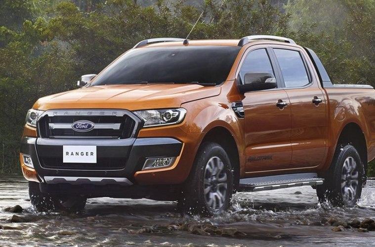 Компания Ford продемонстрировала новую версию Ranger Wildtrack