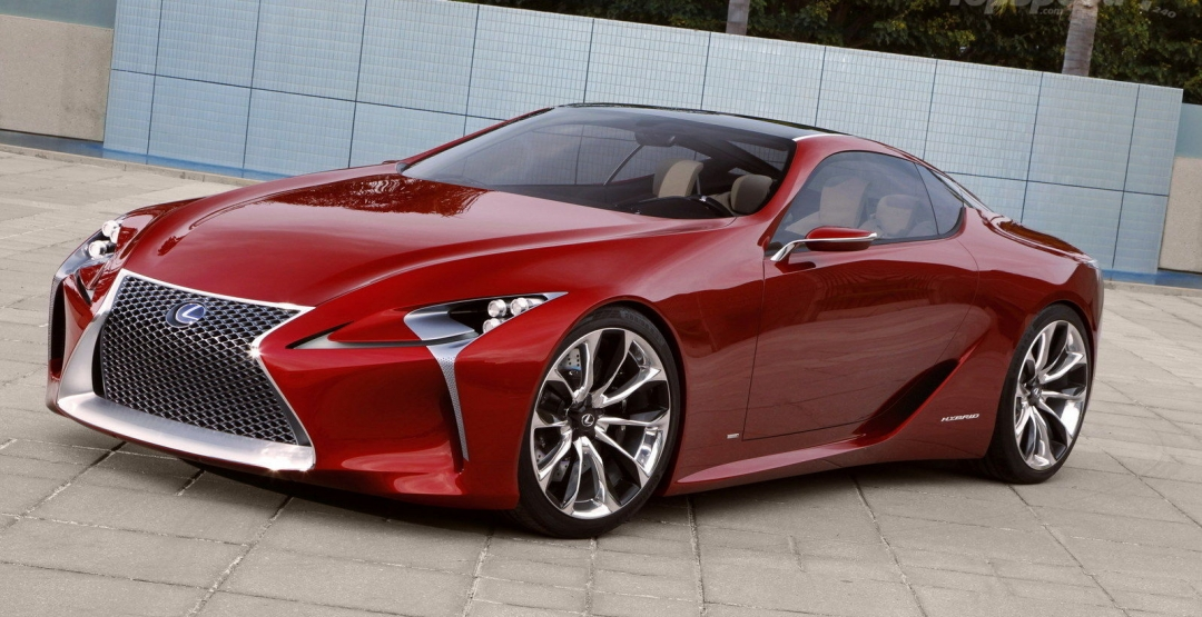 В Интернете появились новые слухи относительно Lexus LF-LC
