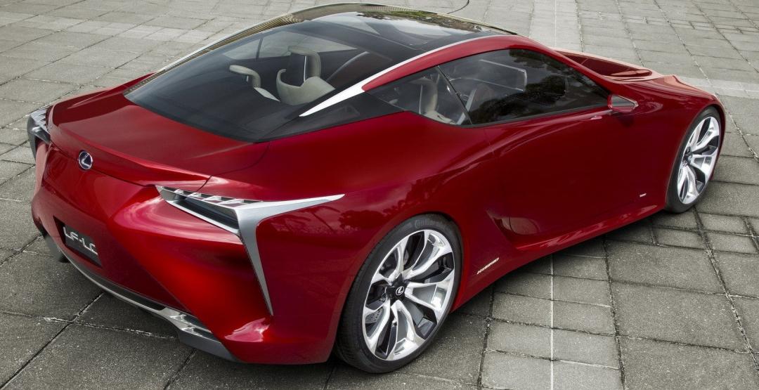 В сети была размещена неофициальная информация относительно новинки Lexus LF-LC
