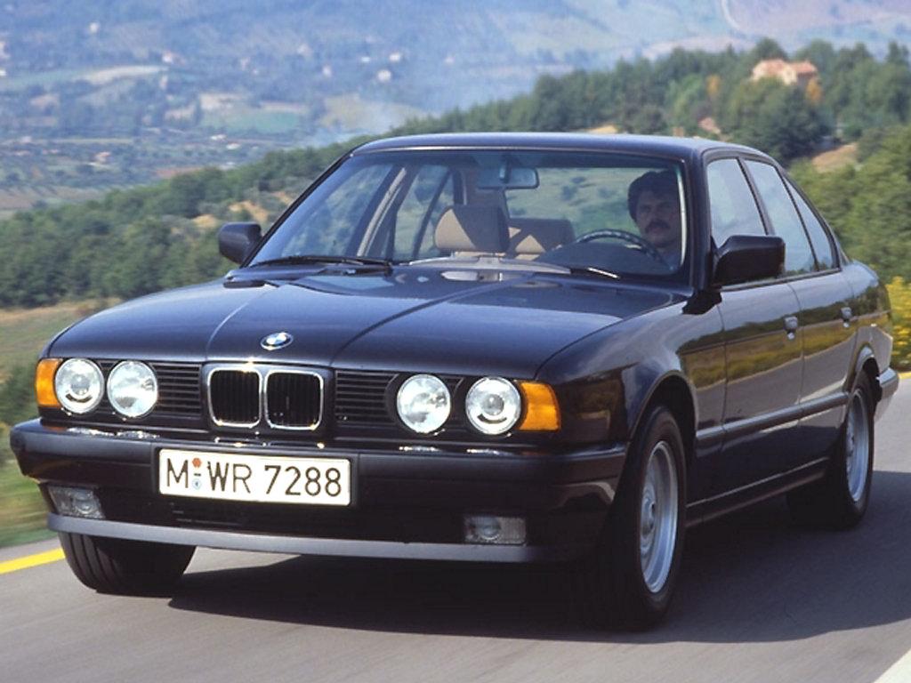 Фото BMW E34 1988