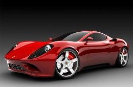 Фото Ferrari Dino 2018 (концепт)