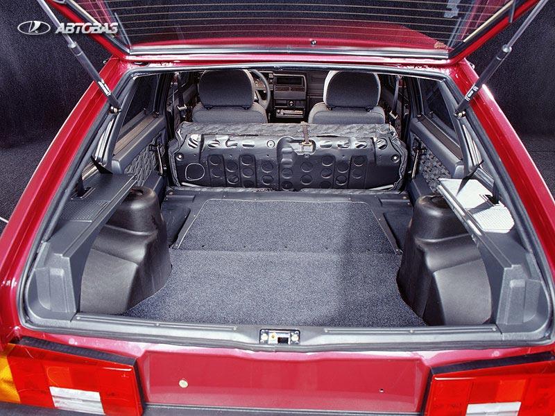 Фото багажника ВАЗ 2109