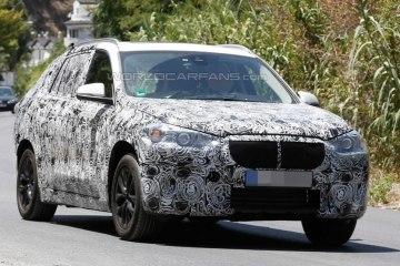 Шпионское фото BMW X1