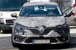 Шпионское фото Renault Megane 2016