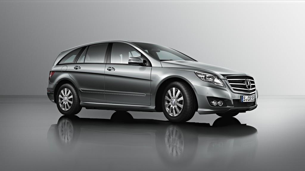 Фото Mercedes-Benz R-класса