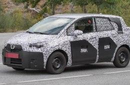 Шпионское фото Opel Meriva