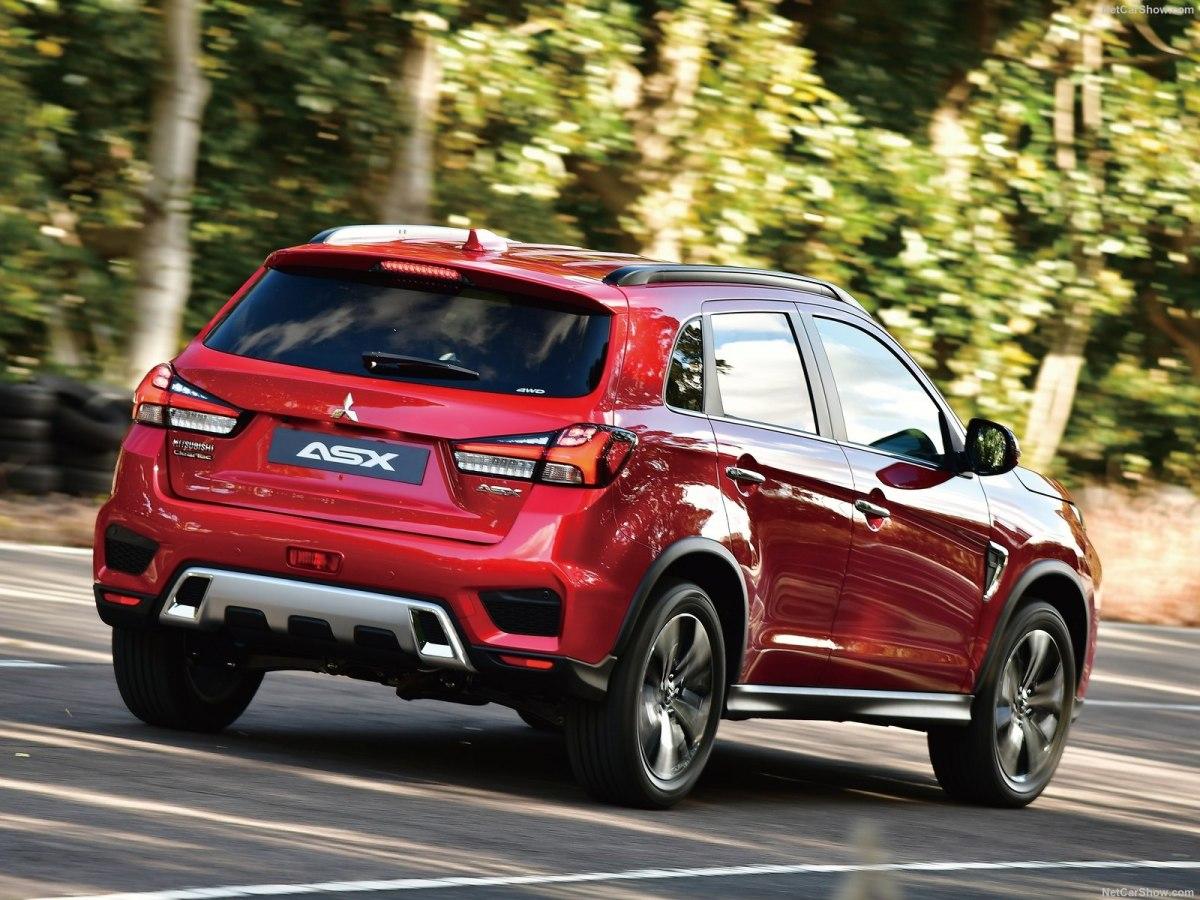 Mitsubishi показала новые Mitsubishi Pajero Sport и ASX для России