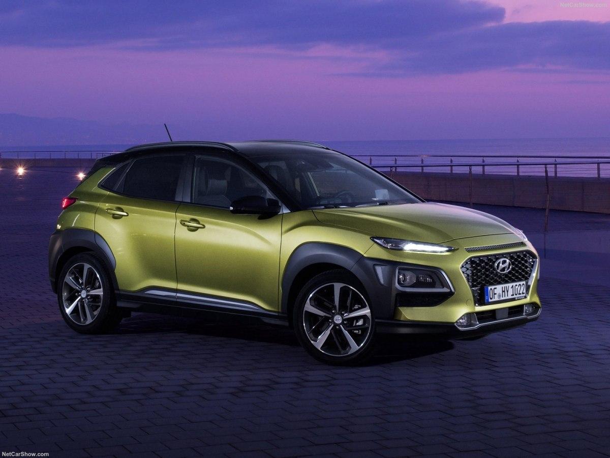 Hyundai Kona 2019 года - эффектный корейский кроссовер