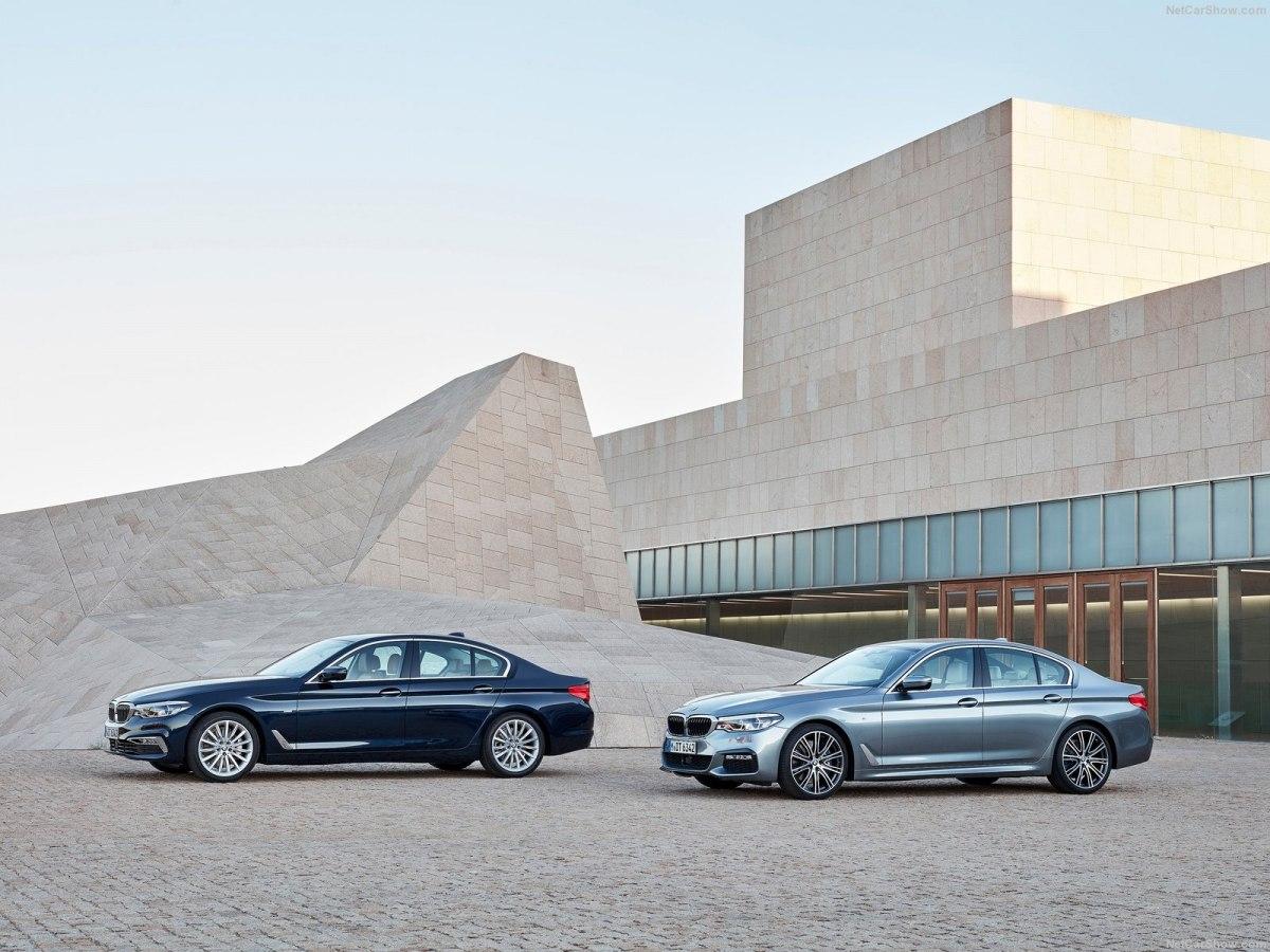 BMW 5-Series 2019 - яркий представитель автомобилей премиум-сегмента