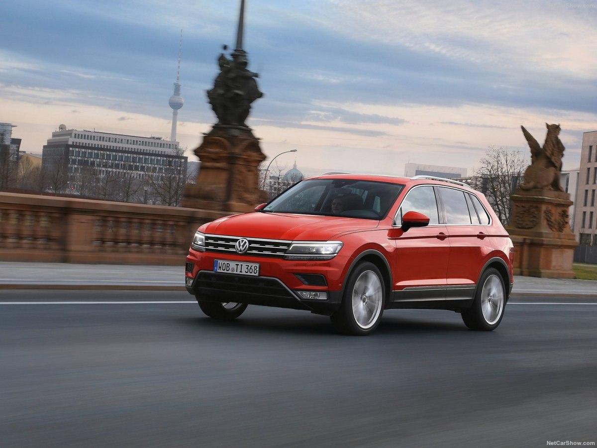 Улучшенный VW Tiguan 2021 года готовится кдебюту