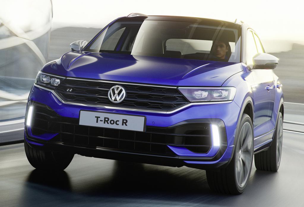 """Volkswagen T-Roc 2019 – купеобразная новинка обещает стать настоящим """"хитом"""" продаж"""