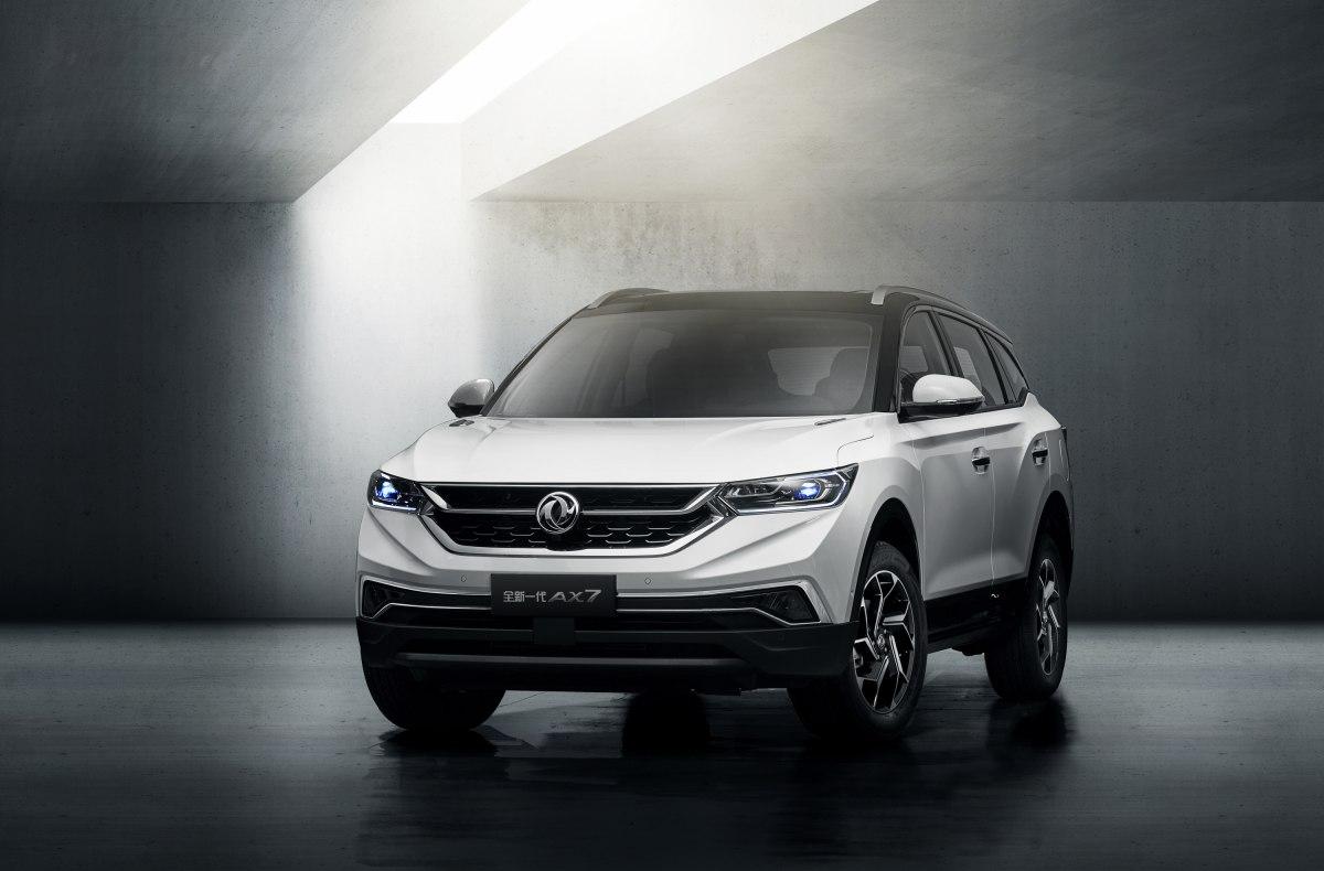 Новый Dongfeng AX7 2019 – стильное решение азиатского автопроизводителя