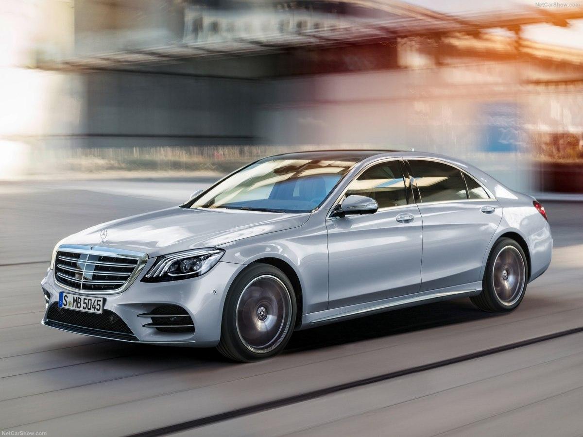 Актуальная версия Mercedes Benz S-Class