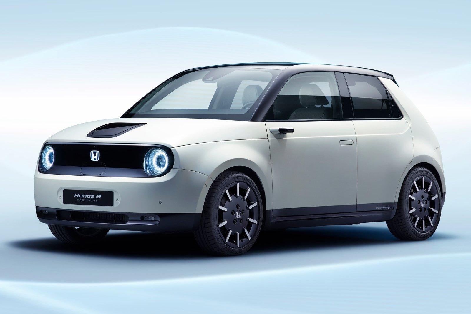 Новый электрокар от Honda будет представлен в Женеве