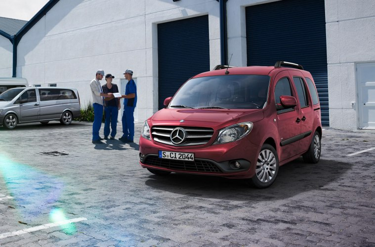 Новый Mercedes-Benz Citan 2019 - стильный коммерческий фургон проверенного немецкого производителя