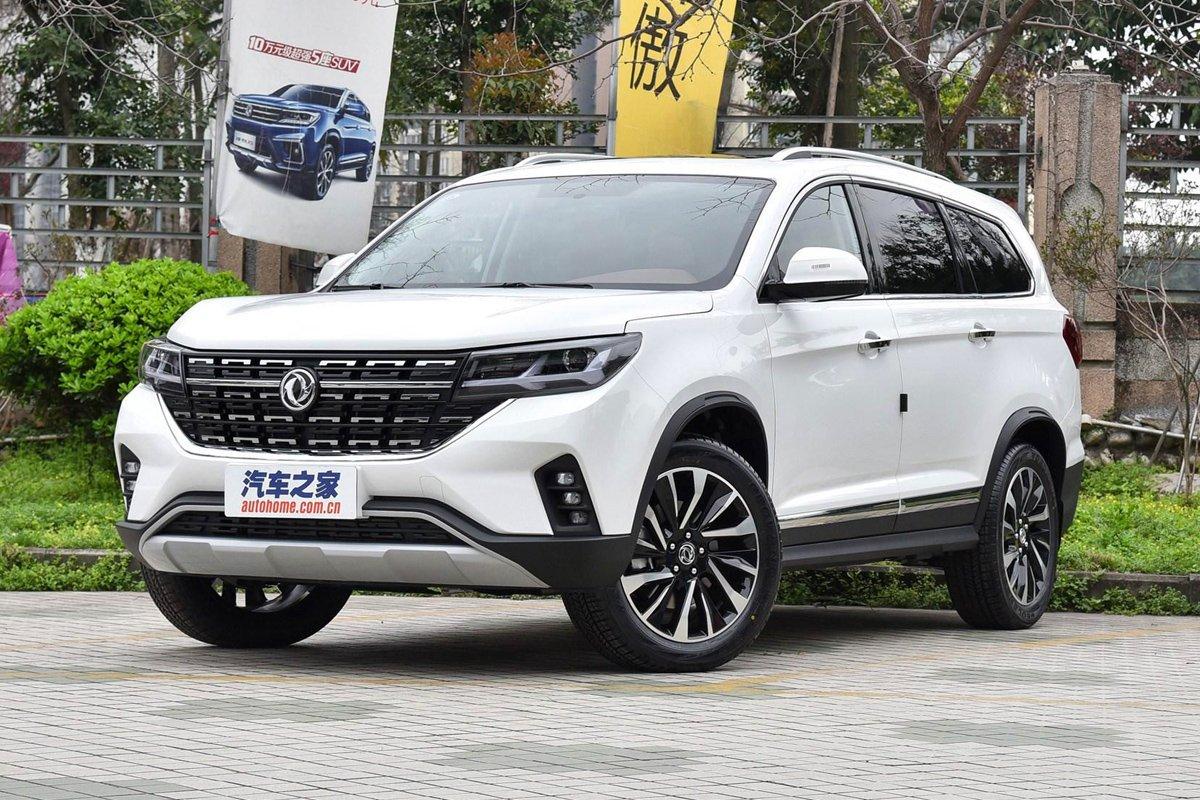 Dongfenf T5L 2019 2020 цены, фото, комплектации, новая модель