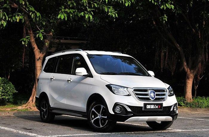 Конкурент Fiat Doblo: 7 мест, экономичный и бюджетный минивэн, , МКПП и АКПП от 520 000 рублей - Foton Gratour IX5 2019