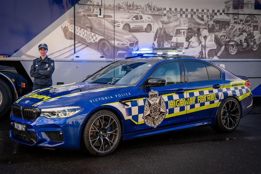 Суперскоростной BMW M5 Competition появился на вооружении у австралийской полиции